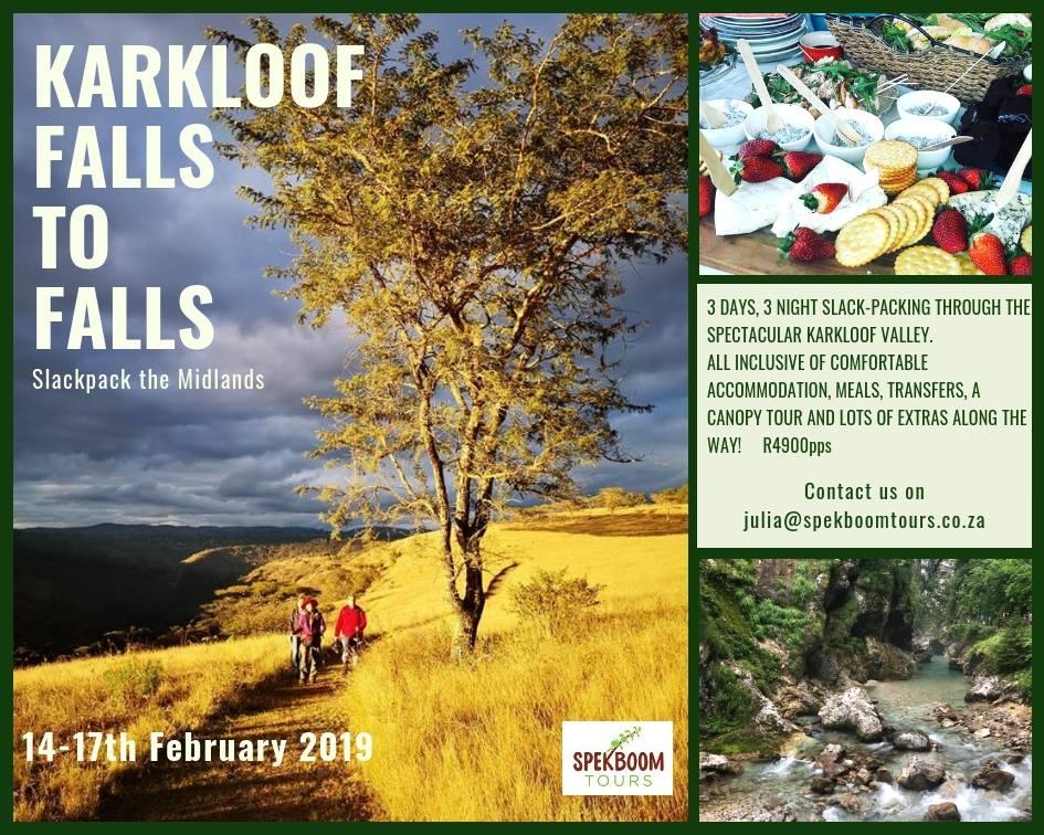Karkloof falls to falls @ Karkloof falls