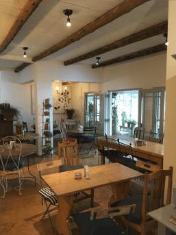 Cafe Bloom - Inside Seating