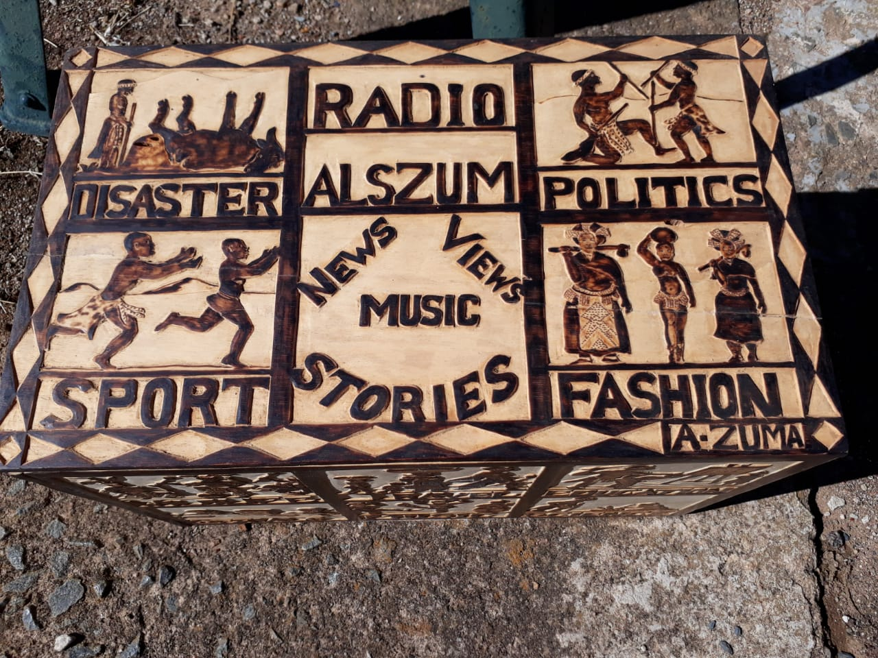 ALSON ZUMA - EMERGING ARTIST/CRAFTER