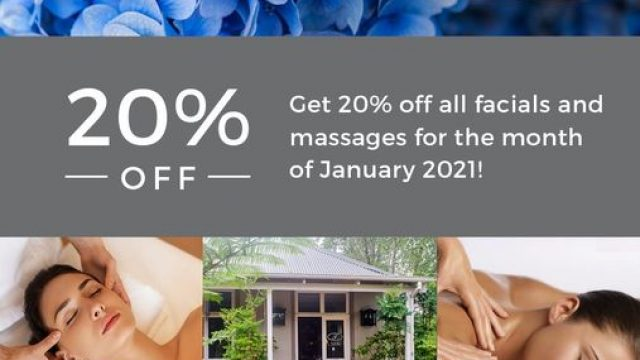 Fordoun January Spa Promo