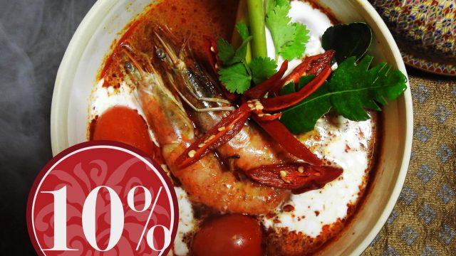 Taste of Thai Take Away Special