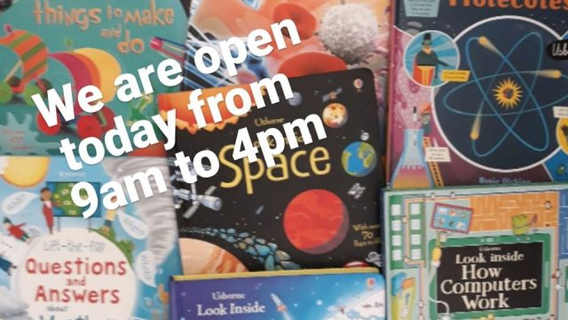 NUTS ABOUT BOOKS & TOYS NOW OPEN