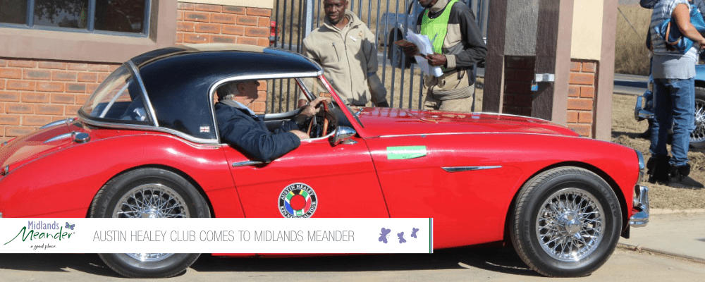 Austin Healey Club Comes To Midlands Meander