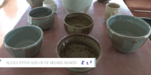 Hillfold Pottery Guru On The Midlands Meander