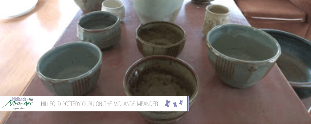 Hillfold Pottery Guru On The Midlands Meander