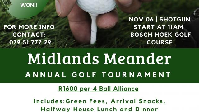Midlands Meander Golf Day 2020
