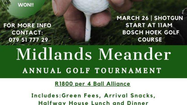 Midlands Meander Golf Day 2021